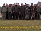 Ukončení sezony 31.12.2013