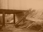 16 stavba schodů 1989