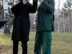 Poučení závodnice v biatlonu o nástrahách ve střelbě z brokovnice